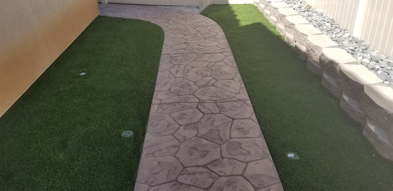 concrete walkway in Oakland