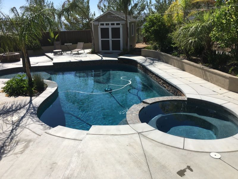 Pool deck contractor installation in Oakland